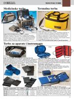 Medicinske torbe Termalna torba Torbe za aparate i instrumente