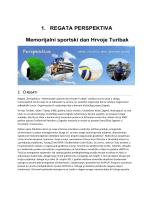 Program i opis regate