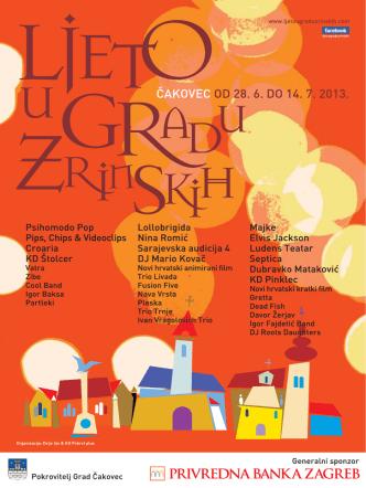 2013 (pdf 1,83 MB) - Ljeto u gradu Zrinskih