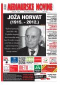 JOŽA HORVAT - Međimurske Novine