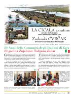 LA CICALA zaratina Zadarski CVRČAK