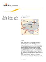 """PDF """"Kako doći do tvrtke Storck Croatia d.o.o."""""""