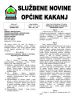 ovdje - Općina Kakanj