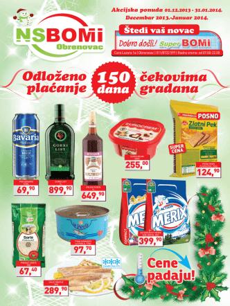 Cene padaju! - NS BOMI Market