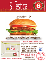 probajte najbolje burgere