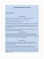 Interna komunkacijska procedura Mreže pravde