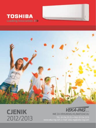 Cjenik 2012/2013 - Veka-ing