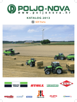 KATALOG 2013 - Poljo