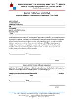 PristupnicaPostanite član SBRHŽ-a - sindikat branitelja i radnika
