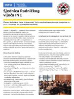 Br. 140. – 3. ožujka – Sjednica Radničkog vijeća INE