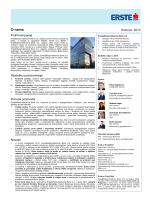 Fact Sheet - Erste Bank