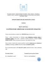 Natječaj za sudjelovanje na znanstvenim skupovima