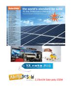 Cjenik - Solarni paneli   Sole