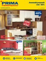 Jesenski popusti i do - 55% - Namještaj | Kuhinje | Salon namještaja