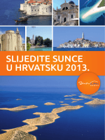 SLIJEDITE SUNCE U HRVATSKU 2013.
