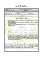 III – GODINA - Pravni fakultet