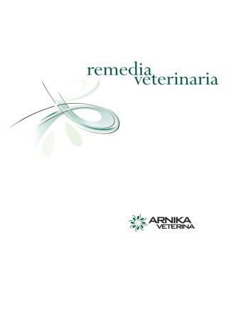 Arnika Veterina katalog