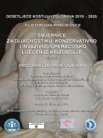 Program i sazetci radova - Smjernice za dijagnostiku konz i invaz