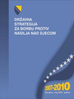 državna strategija za borbu protiv nasilja nad djecom 2007