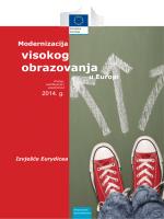 Modernizacija visokog obrazovanja u Europi - EACEA