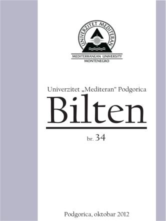 br.34 - Univerzitet `Mediteran`