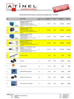 ATINEL doo Cjenik elektromotornih pogona i opreme za automatska