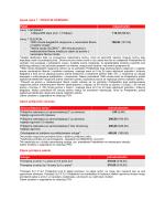 Cjenik Amis 1 - PRIVATNI KORISNICI Paket mjesečno/kn Amis 1