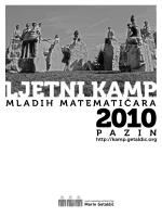 101013 Ljetni kamp mladih matematicara 2010.