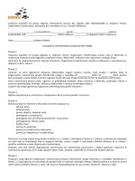 Ugovor o volontiranju - maloljetne osobe