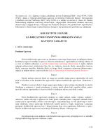 kolektivni ugovor za djelatnost osnovnog obrazovanja