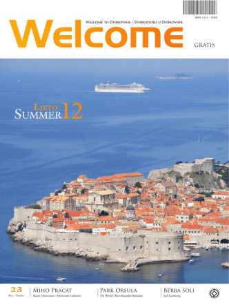 - Dubrovnik