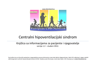 Centralni hipoventilacijski sindrom