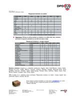 Raspored dostave u manja mjesta Raspored