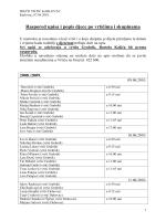 Raspored upisa i popis djece po vrtićima i skupinama