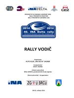RALLY VODIČ - 40.ina delta rally