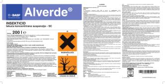 Alverde proširenje registracije etiketa