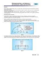 6 Kompenzacija u mrežama s prisustvom viših harmonika