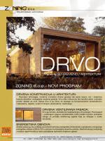 Novi program - Drvo - trend u suvremenoj arhitekturi