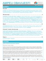 AMPEU OBAVIJESTI - Agencija za mobilnost i programe EU