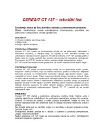 CERESIT CT 127 – tehnički list