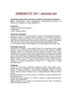 CERESIT CT 127 – tehnički list