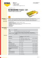 Kemabond Flex 131 - Tehnički list