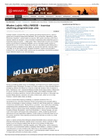 Mladen Lojkić: HOLLYWOOD – tvornica okultnog programiranja uma
