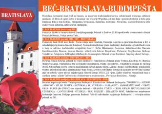 BEČ-BRATISLAVA-BUDIMPEŠTA - biss