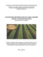 genetički modificirani organizmi - Agencija za sigurnost hrane