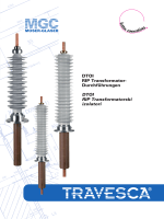 TRAVESCA ® Transformatorski izolatori Visokonaponski RIP