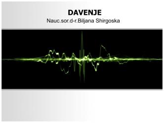 DAVENJE