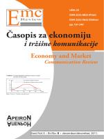 Časopis za ekonomiju i tržišne komunikacije - EMC