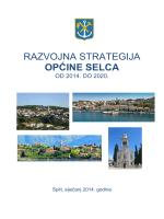 Razvojna strategija Općine Selca od 2014. do 2020.