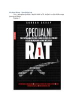 Gordan Akrap - Specijalni rat Sve o spregama politike i